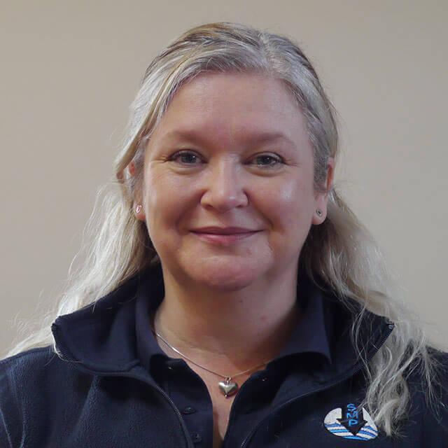 SMP female staff member Becky Pickford